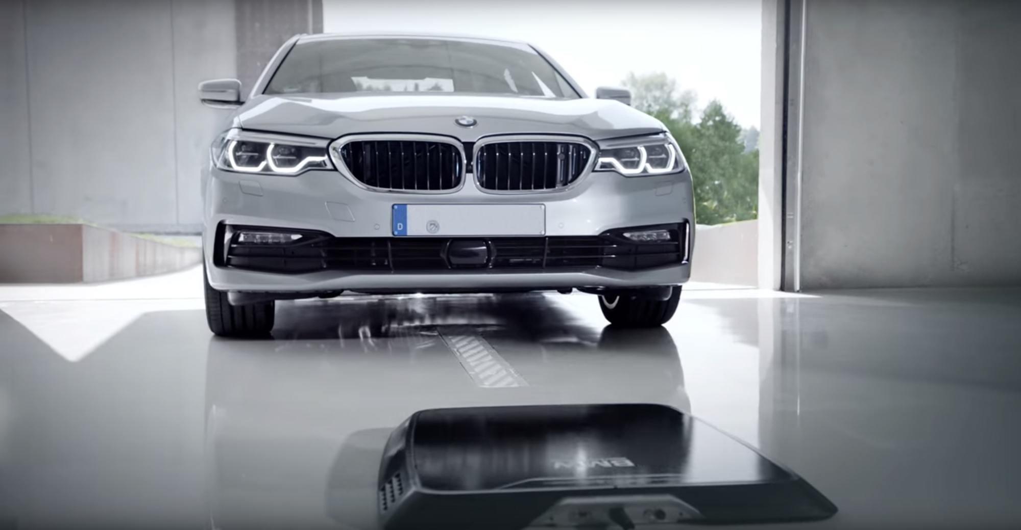 wireless charging BMW